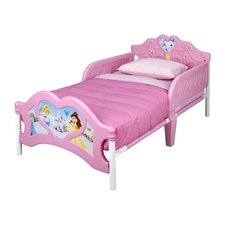 Princess 3D Plastic Toddler Bed