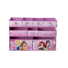 Princess Deluxe 9 Bin Toy Organizer