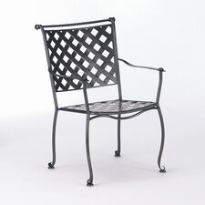 Maddox Stacking Dining Arm Chair