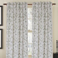 Bedazzle Rod Pocket Single Drape Panel