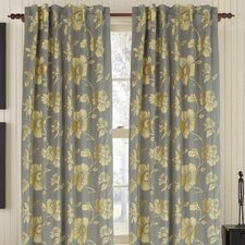 Royal Linen / Cotton Blend Rod Pocket Single Drape Panel