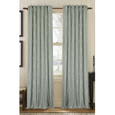 Viola Blend Single Drape Panel