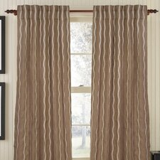 Infinite Burlap Rod Pocket Single Drape Panel