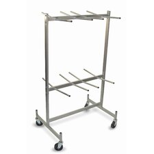 Compact Size for Lifetime Hanging Folded Chair Dolly