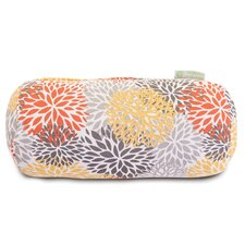 Blooms Round Bolster Pillow