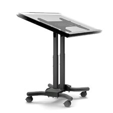 Mobile Adjustable Laptop Cart