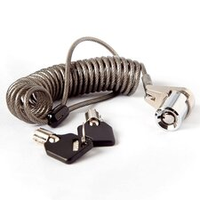 Portable Coiled Cable Lock