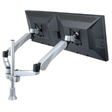 2 Screen Spring Arm Monitor Desk Mount