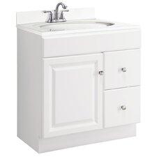"Wyndham 30"" Single Bathroom Vanity Cabinet"