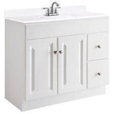 "Wyndham 36"" Single Bathroom Vanity Base"