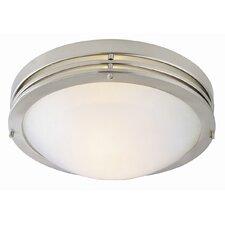 120V 2 Light Flush Mount