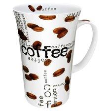 Coffee Shop Collage Mega Mug