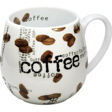 Coffee Shop Snuggle Coffee Collage Mug (Set of 2)