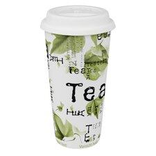 Large Travel Tea Collage Mug (Set of 4)