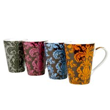 Assorted Rocallie Mug (Set of 4)