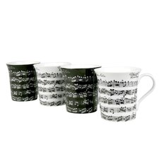 Assorted Vivaldi Libretto 12 oz. Mug (Set of 4)