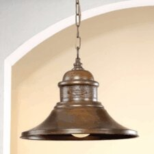 Rustik American Coop 1 Light Foyer Pendant