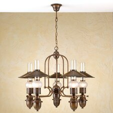 Rustik Velha Five Light Chandelier