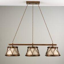 Rustik Tambor Three Light Pendant