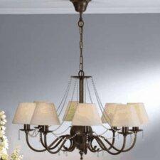 Classic Missangas Eight Light Chandelier