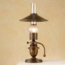 "Rustik Velha 19.69"" H Table Lamp with Cone Shade"