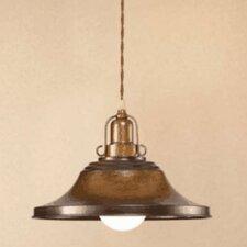 Rustik Charleston 1 Light Mini Pendant