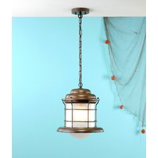 Caravela 1 Light Outdoor Hanging Pendant