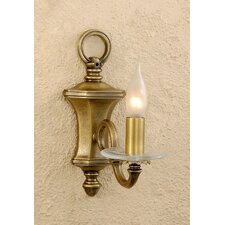 Classic Etrusca 1 Light Wall Sconce