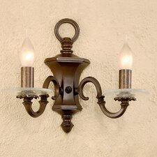 Classic Etrusca 2 Light Wall Sconce