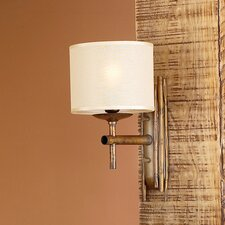 Rustik Bambu 1 Light Wall Sconce
