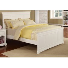 Cambridge Full Wood Panel Bed with Headboard and Footboard