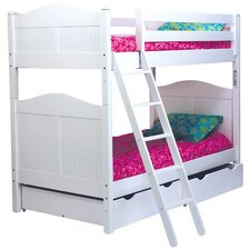 Cottage Twin Over Twin Bunk Bed