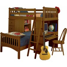 Mission Sleep/Study/Storage Loft Bed