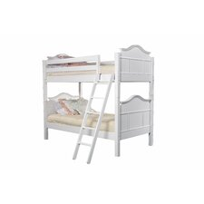 Emma Twin Over Twin Bunk Bed with Built-In Ladder