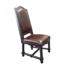 True Leather Side Chair
