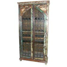 Iron Jali Tall Cabinet