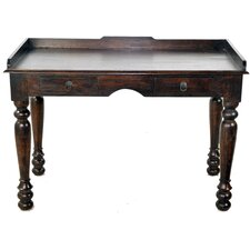Colonial Study Writing Desk with 2 Drawer