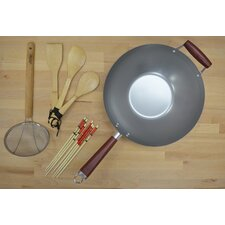 Natural Wok 4-Piece Cookware Set