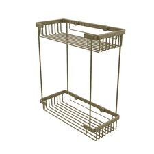 Waverly Place Double Rectangle Shower Basket 10.5Lx4.8Dx