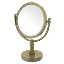 Vanity Top Make-Up 3X Magnification Mirror with Dotted Detail