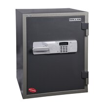 1 Hr Fireproof Electronic Lock Data / Media Safe