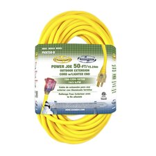 "600"" 14 Gauge Low Temp Extension Cord with Lighted End"