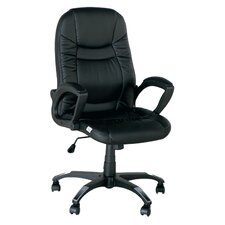 High-Back Lord Leather Executive Office Chair