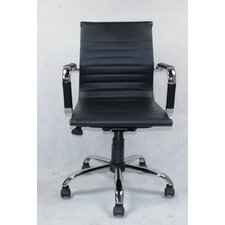 WIinport Mid-Back Swivel Conference Chair