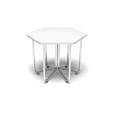 "Hex Series 20"" x 22.75"" Hexagonal Classroom Table"