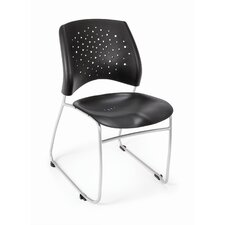 Stars and Moon Armless Stacking Chair