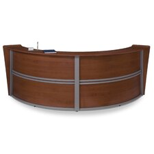 Reception Furniture Double Unit Curved