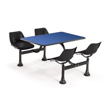 """30"""" x 48"""" Group/Cluster Table and Chairs with Laminate Tops"""