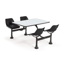 """24"""" x 48"""" Group/Cluster Table and Chairs with Laminate Tops"""