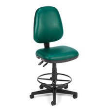 Height Adjustable Drafting Chair with Gas Lift